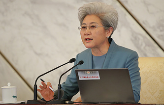 Spokesperson of the National People's Congress Fu Ying