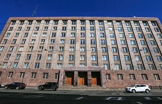 Russian Federal Security Service in St. Petersburg