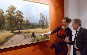 Ivan Shishkin's At the Edge of the Pine Forest