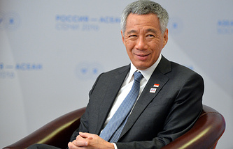 Singapore's Prime Minister Lee Hsien Loong