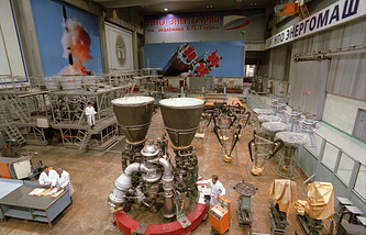 RD-180 rocket engine (archive)