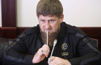 Chechen Republic's head Ramzan Kadyrov