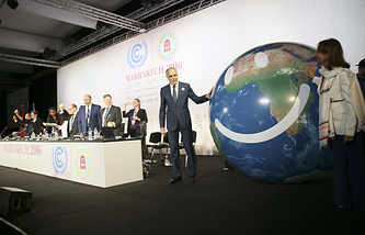 Climate Conference on implementing the Paris pact in Marrakech