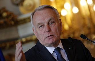 French Foreign Minister Jean-Marc Ayrault