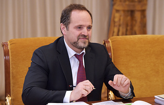 Russia's ministry of natural resources Sergei Donskoi