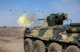 BTR-82AM armored personnel carrier
