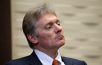 Press secretary of the Russian president, Dmitry Peskov