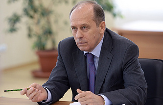 The head of Russia's Federal Security Service (FSB), Alexander Bortnikov