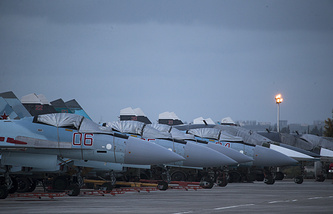 Hmeymim air base in Syria
