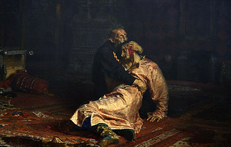 Ivan the Terrible and His Son by Ilya Repin
