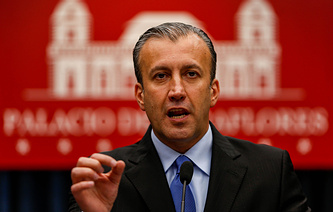 Venezuelan Minister of National Industries and Industrial Production Tareck El Aissami