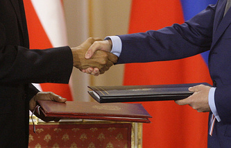 New Strategic Arms Reduction Treaty signed by Russia and US on April 8, 2010
