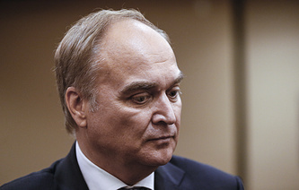 Russian Ambassador to the US Anatoly Antonov