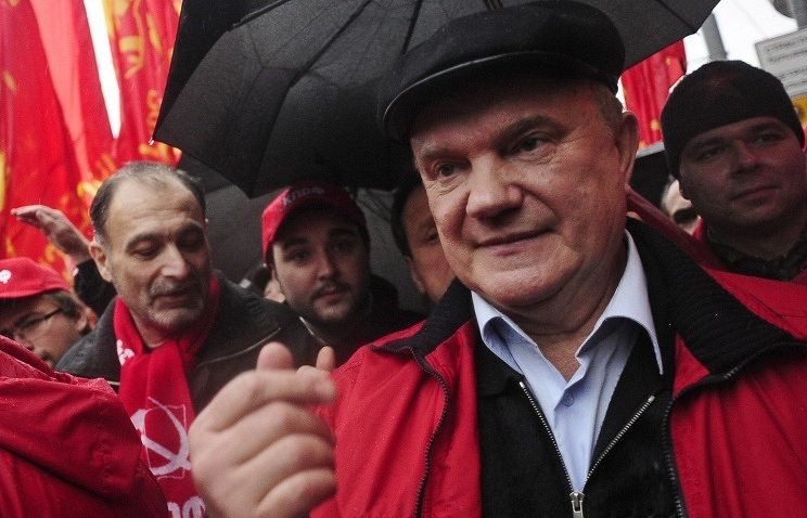 Leader of the Communist Party of Russia Gennady Zyuganov