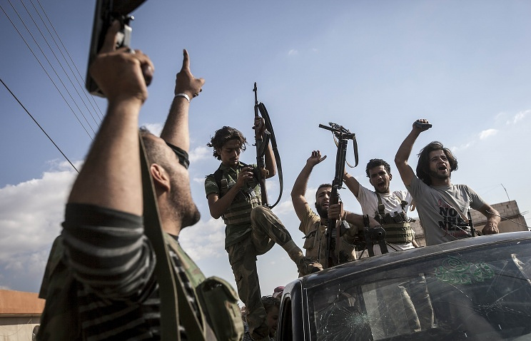 Fighters for the Syrian opposition