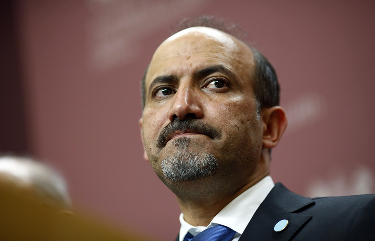 President of the Syrian National Coalition, Ahmed Asi Al Jarba