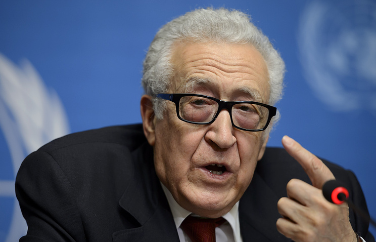 UN Joint Special Representative for Syria Lakhdar Brahimi