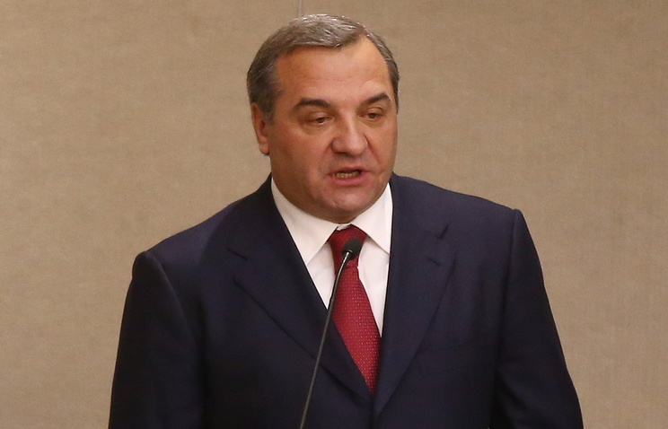 Emergency situations minister of Russia Vladimir Puchkov