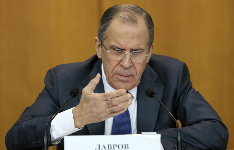 Russian Foreign Ministry Sergai Lavrov
