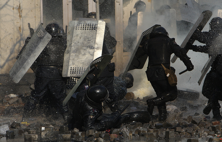Protests in Kiev