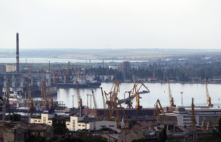 Port of Odessa, where the LNG terminal was to be constructed