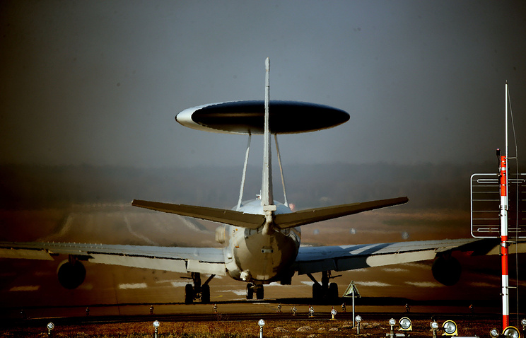 NATO Awacs warning and control aircraft
