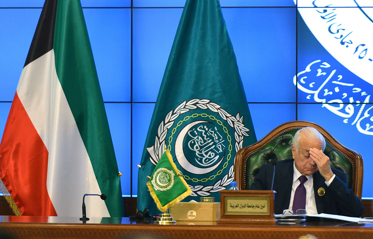 Arab League Secretary General Nabil al-Arabi