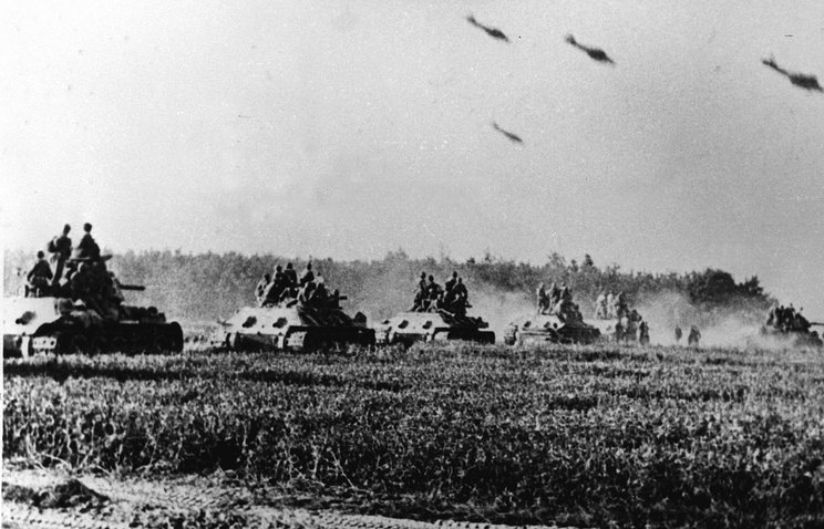 Images of the battle of Kursk (archive)