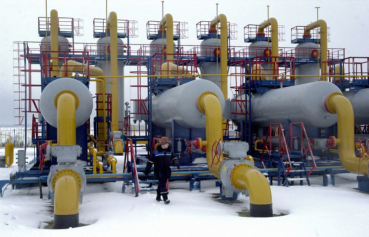 Gas pipelines in Ukraine (archive)