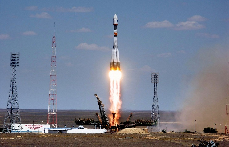 A Russian rocket Soyuz-U