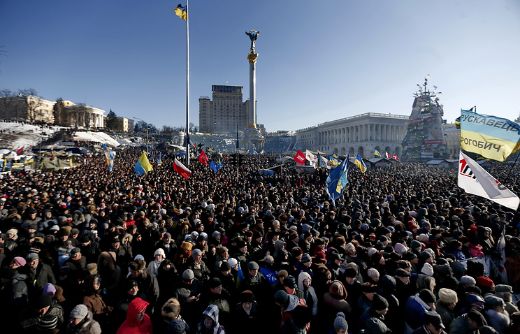 Maidan protesters (archive)