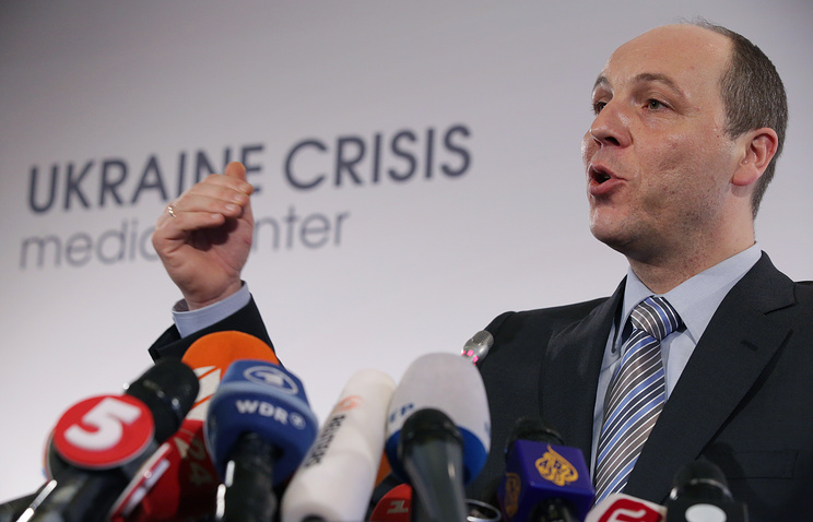 Secretary of Ukraine's National Security and Defence Council Andrei Parubiy
