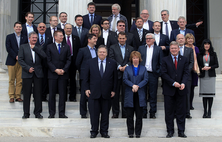 Informal meeting of EU Foreign Ministers in Athens on April 2014