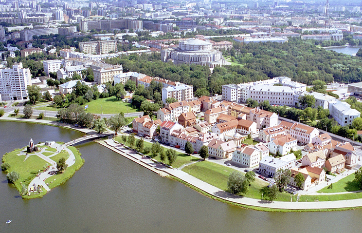 A view of Minsk