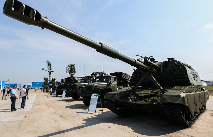 At the Oboronexpo-2014 arms exhibition in Russia