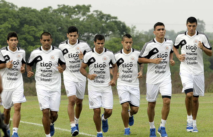 Paraguay national football team (archive)