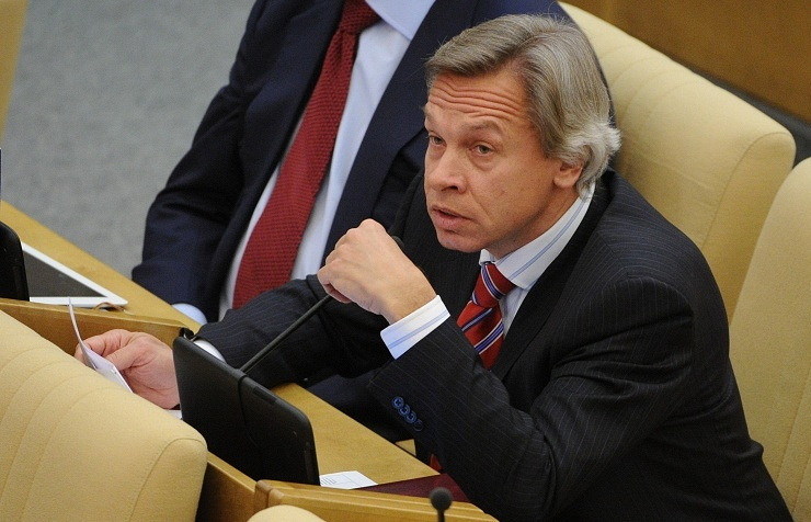 The chairman of the State Duma's international affairs committee Alexey Pushkov