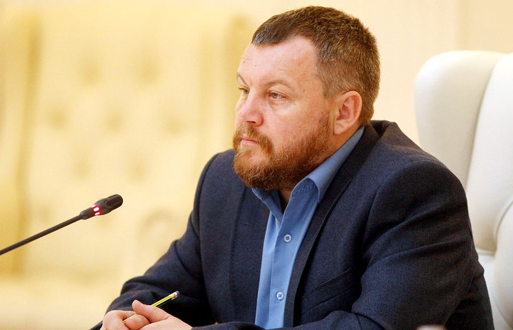 DPR's First Deputy Prime Minister Andrei Purgin
