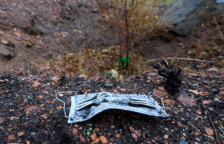 The mass grave found in Ukraine's Donetsk Region