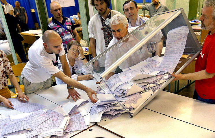 Vote counting in Ukraine (archive)