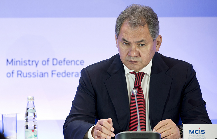 Russian Minister of Defense Sergey Shoigu