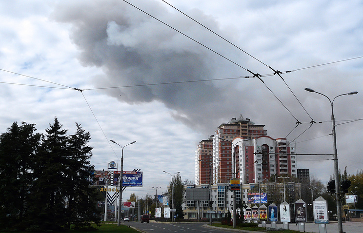 Situation in Donetsk
