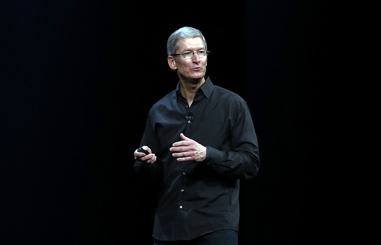 Apple CEO Tim Cook