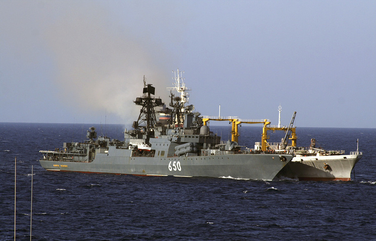 Ships of Russia's Northern Fleet (archive)