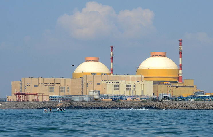 Koodankulam nuclear plant in India