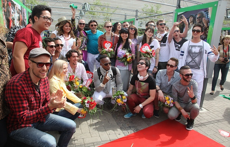 New Wave contest in Latvia, 2012