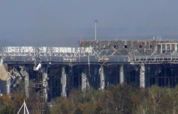 Donetsk airport (archive)