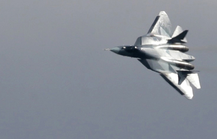 Sukhoi T-50 fighter