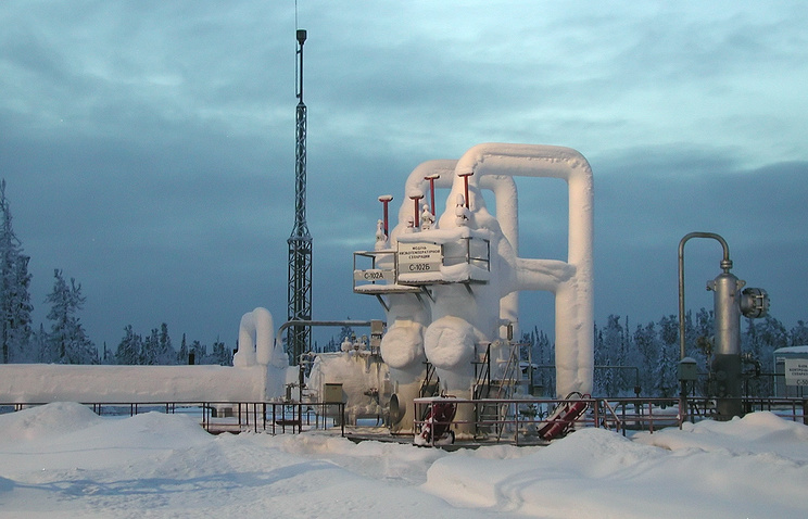 Kovykta gas condensate field in the Irkutsk Region in Eastern Siberia