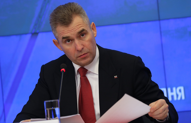 Russian Presidential Children's Rights Commissioner Pavel Astakhov